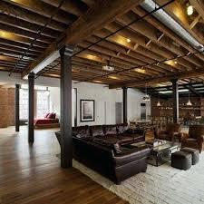 basement ceiling lighting. Exposed Ceiling Lighting Smart Idea Basement Lights Best Ideas On Options