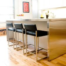 fantastic wood counter stools design ideas black leather bar stool grey metal chrome kitchen island natural