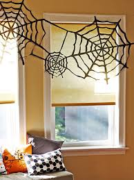 Budget-Friendly Trash Bag Spider Webs