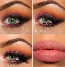 pretty purple smokey eye makeup tutorial