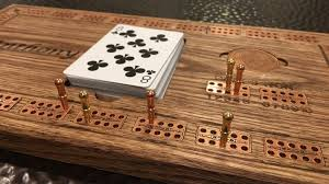 Wooden Board Game With Pegs Premium Cribbage Board Game Solid Wood Copper Inlay by The 91