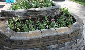 Small Picture Raised Stone Garden Beds 15 Charming Garden Design Ideas With