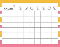 Imom Chore Chart Chore Charts For Teenagers I Could Do That Chore Chart