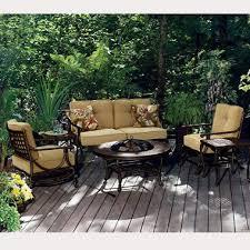 Belize Fire Pit Outdoor Furniture Set 6 pc Sam s Club
