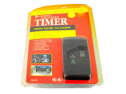 picture of intermatic digital outdoor light sensor lighting timer