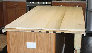 Diy Kitchen Countertops Remodelaholic How To Create Faux Reclaimed Wood Countertops