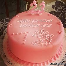 birthday cake for girls 23. Plain Girls Throughout Birthday Cake For Girls 23