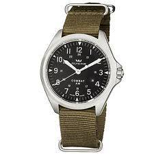 mens vintage watches glycine men s 3943 19at tb2 combat 7 vintage automatic nylon green strap watch