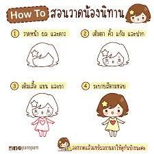 สอนวาดนองนทาน Pannpam การตน สราง สข Facebook