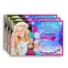 Frozen Invitation Frozen Birthday Frozen Birthday Invitation Frozen Birthday Party Frozen Party