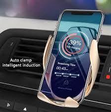 Kisscase Giá Đỡ Điện Thoại Ô Tô Dùng Cho iPhone 11 Pro Max Sạc Không Dây Qi  Cho Xiaomi Redmi Note 8 Pro Nhanh Không Dây sạc Giá Đỡ|Giá Để ĐTDĐ