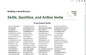 Strong Verbs For Resume Awesome 521 Words To Use On Resume Amazing Strong Verbs For Resumes Action Verbs
