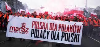 Znalezione obrazy dla zapytania marsz niepodległości foto