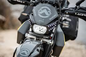 upshift2020 suzuki dr650s project bike
