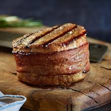bacon wrapped filet mignon. Delighful Mignon Super Trimmed Filet Mignon With Bacon Throughout Wrapped A