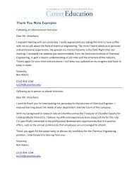 Thank You Note Examples 11 12 Job Interview Thank You Note Example Jadegardenwi Com