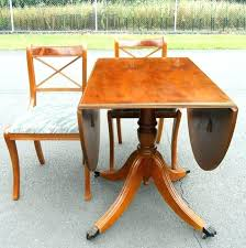 dining tables round drop leaf pedestal dining table tables international concepts unfinished al with yew
