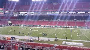 Raymond James Stadium Section 238 Tampa Bay Buccaneers