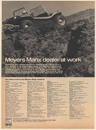 meyers manx dune buggy zeppy io 1968 meyers manx dune buggy dealers list print ad