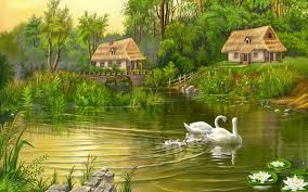 HD Nature Digital Painting Art ...