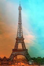 eiffel tower, paris, france, sights ...