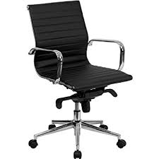 lexmod ribbed mid office. flash furniture midback black ribbed leather swivel conference chair with kneetilt control lexmod mid office