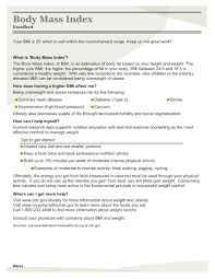 my health report an after summary designed by open source  my health report an after summary designed by open source medicine at wayne state university