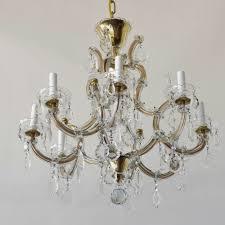 vintage italian crystal chandelier 1 500
