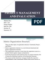 Project Evaluation | Evaluation | Project Management