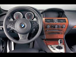 BMW Convertible bmw 525i 2008 : 2006 BMW M6 - Dashboard - 1024x768 Wallpaper