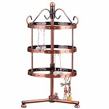 Jewellery Display Stands Uk Stunning 32 Holes Metal Rotating Earrings Jewellery Display Stand Holder Tree