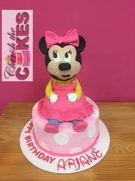Minnie Mouse Character Cake Cherish The Cakes