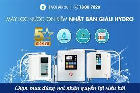 Nên mua máy lọc nước ion kiềm Nhật Bản giàu hydro loại nào ở