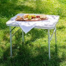 Shop Cheap Camping Table Aluminium 75x55x60cm Foldable Online Tectake