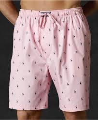 Mens Bedroom Wear Polo Ralph Lauren Sleepwear Polo Player Shorts Mens Pajamas