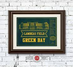Lambeau Field Seating Chart Vintage Green Bay Packers