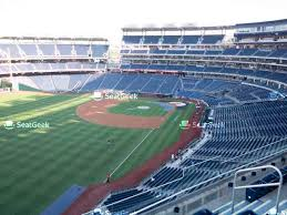 Nationals Stadium Seating Chart With Rows Nationals Park Seating Chart Seatgeek
