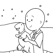 Caillou Coloring Pages Movies And Tv Show 10001000 Attachment