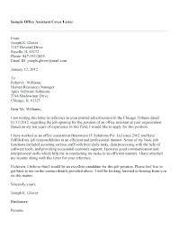 Sample Letter To Ask For Job Back Cover Letter For Office Job Bitacorita