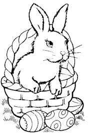 Small Picture Easter Bunny Coloring Page Free Coloring Pages for Adults