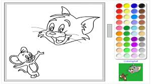 Small Picture Tom and Jerry Online Coloring Page For Kids Tom and Jerry