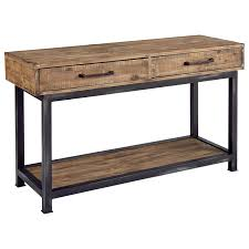 magnolia home by joanna gaines industrial pier and beam console