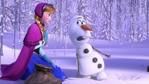 Image result for olaf and anna