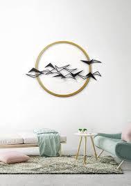 black birds metal wall art metal home