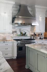 Marble Tile Backsplash Kitchen Kitchen Halcyon Island With Calcutta Gold Honed Marble