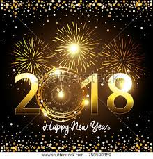 happy new years postcard happy new year 2018 postcard stock photo photo vector