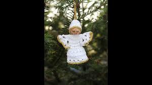 Kleines Weihnachtsengerl Teil 1 Deko Für Weihnachten Engel Häkeln