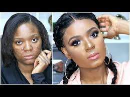 chocolate beat on melanin skin makeup transformation 8 poised by suliat you