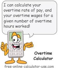 Pay Calculator Australia Overtime Calculator To Calculate Time And A Half Rate And More