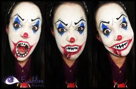 scary clown makeup tutorial jpg 1900x1245 easy scary clown makeup orial